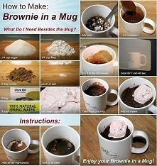 brownie w kubeczku