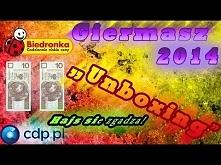 Giermasz 2014 Biedronka (Moje gry) - Unboxing
