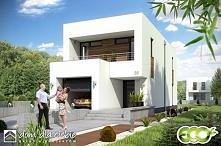 Projekt domu ECO 4, z aranżacją wnętrz w stylu nowoczesnym.