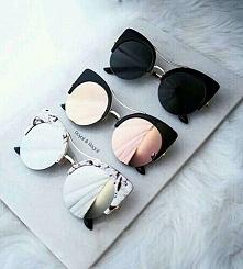 Piękne okularki - kocie oczy :)