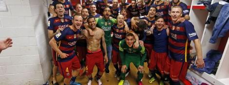 Campeone campeone OLE OLE OLE!!  Brawo Barca ;)