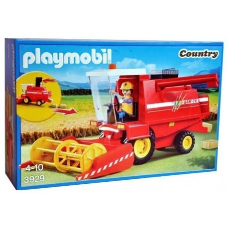 Poniedziałek, jak miło:)  Zestaw Playmobil 3929 serii Country - Czerwony Kombajn z Figurką i 6 belkami siana dla Dzieci od lat 4.  Maszyna posiada realistyczną wyrzutnie beli słomy, jak również ruchomy element do koszenia.  Idealna Pomoc przy żniwach w okresie letnim.  Sprawdźcie sami:)  #playmobil #kombajn #zabawki #niczchin #krakow