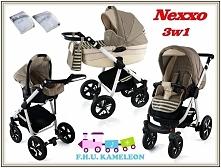 Nexxo 3w1 więcej na sklep.beszka.eu lub wozki@onet.eu  Mix kolorów