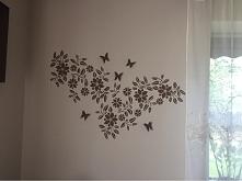 moja nowa ściana