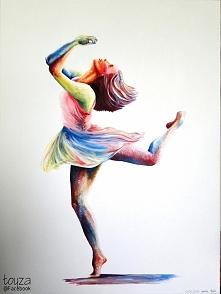 Obraz namalowany w prezencie dla siostry na 18stkę :) Farby akrylowe na płótnie, format 60x80cm 2015r. Zapraszam na FB: toyza