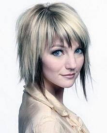 fryzura krótka cieniowana