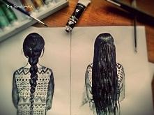 Long hair :)