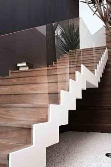 Nowoczesne schody u Pani Dy...