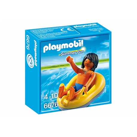 Temu to wygodnie:)  Playmobil 6676 - Opona Raftingowa z Figurką chłopca dla dzieci od lat 4.  Zestaw można dołączyć do zestawów Aqua Park ze zjeżdżalniami  - Playmobil 6669 czy też Wodny Plac Zabaw - Playmobil 6670.   Wakacyjna przygoda już na Ciebie czeka!  Sprawdźcie sami:)  #playmobil 6676 #summerfun #oponaraftingowa #zabawki #niczchin #krakow