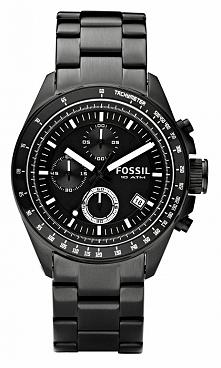 Zegarek męski na czarnej bransolecie wodoodporny Fossil CH2601 Możliwość zakupu, link w komentarzu :)
