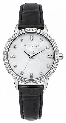 Zegarek damski wysadzany cyrkoniami Morgan M1222B  Możliwość zakupu, link w komentarzu :)