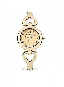 Zegarek damski na bransolecie złocony Morgan M1175GM  Możliwość zakupu, link w komentarzu :)