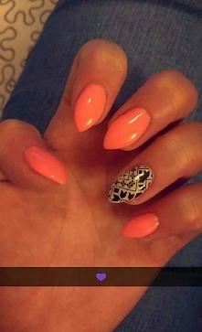 pomarańczowe neonki :)