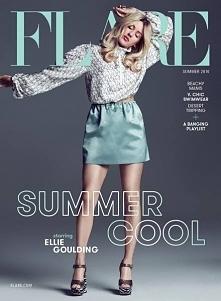 Ellie Goulding on Flare Magazine, 2016