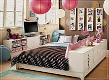 Niezwykły pokój księżniczki na blogu u Pani Dyrektor - zobacz jak urządzić po...
