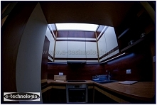 Oświetlenie kuchenne bardzo nowoczesne i dekoracyjne. Nowy design oświetlenio...
