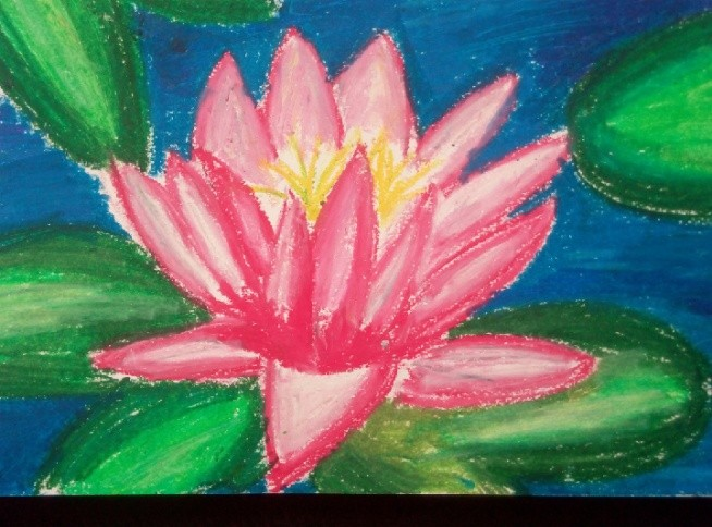 szkicownik malarski, pastele olejne