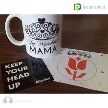 """Na naszym instagramie zdjęcie kubka """"Jej Wysokość Mama"""". Ostatnie dni na zamówienia..."""