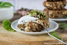 Kotlety gryczane z serem na obiad