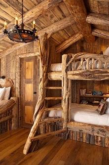 łóżko piętrowe :)