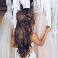 Przepiękna ślubna fryzura!