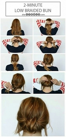 low braided bunt