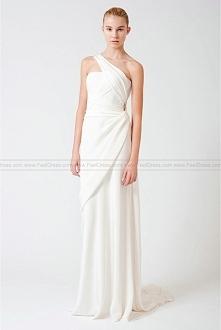 Simple Affordable Designer Fall 2011 Bridal Shows Evelyn Designer Wedding Dress