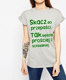 modna koszulka ze zwiadowców - bluzka z cytatem ZWIADOWCY - fajna blogerska f...