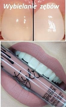 """""""Domowy i sprawdzony sposób na wybielenie zębów: >> Składniki: - 1..."""
