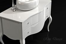 Komoda pod umywalkę gięta Rom Design