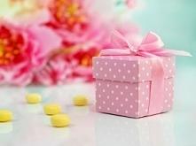 Mini Pudełeczko na mini upominki dla gości weselnych - świetny prezent, który zaskoczy każdego!