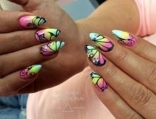 Wiosennie <3  Nails by N...