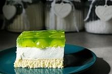 <3 Pyszne, owocowe ciasto z biszkoptem i galaretką. Lekkie i orzeźwiające :) Przepis po kliknięciu w zdjęcie :)