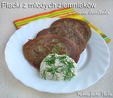 Placki z młodych ziemniaków
