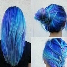 robie w piątek niebieskie włosy