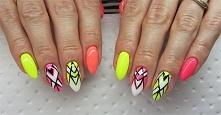 Jak wykonać geometryczne zdobienie na paznokciach w ciekawych i letnich kolorach