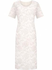 Żakardowa elegancka sukienk...