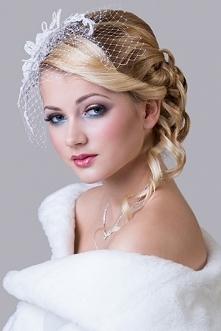Ślubne ozdoby do włosów, bi...