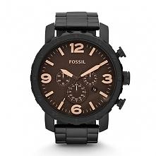 Zegarek męski czarny Fossil JR1356  Możliwość zakupu, link w komentarzu :)
