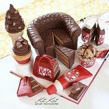 słodycze z KIT KAT