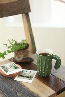 kaktusowy kubek :D