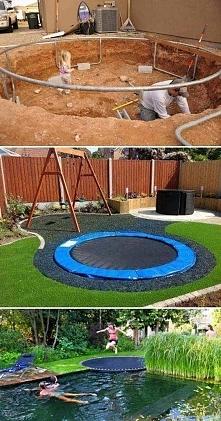 """trampolina (ps. Zapraszam na YouTube """"kerwetka"""". Znajdziesz tam DIY..."""