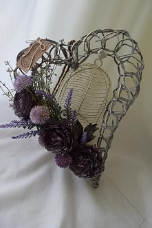 serce z kwiatami, Dziedzicka Dekoracje
