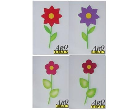 Kwiat 57 CM ! - Kwiaty, Dekoracje Do Przedszkola,Pokój Dziecięcy -