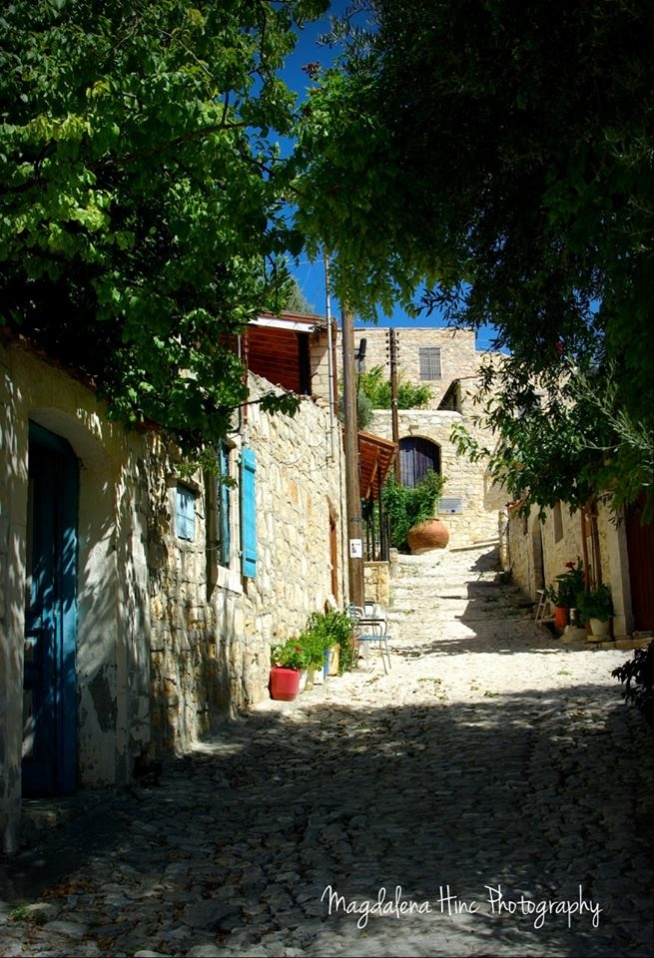 Wieś Lofou/Cypr