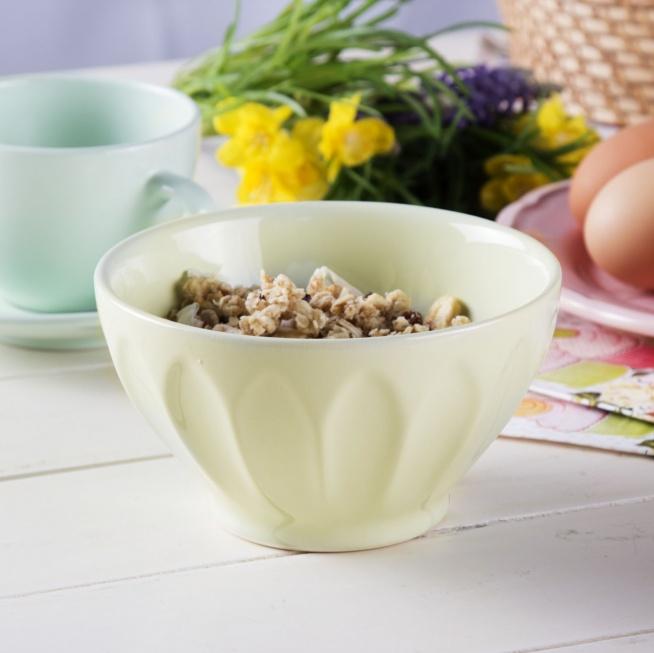 Miseczka / Salaterka ceramiczna AFFEK DESIGN ROSA ZIELONY 0,5 l