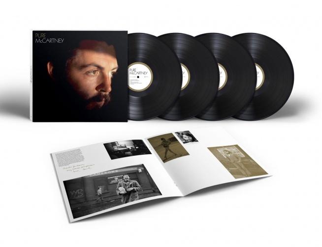 Obszerny kompilacyjny album byłego członka The Beatles zatytułowany Pure McCartney. 67 legendarnych utworów Paula McCartney'a w jego najczystszej postaci na czterech krążkach oraz płytach winylowych.