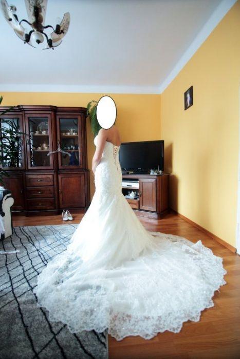Piękna suknia ślubna do kupienia :) Ktoś chętny ? :)