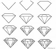 Diament - jak rysować :D