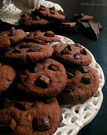 pyszne ciasteczka czekolado...